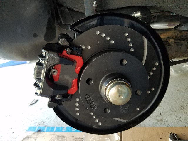 Rear Drill Slot Brake Rotors For Audi A3 VW EOS GTI Jetta GLI Passat Tiguan