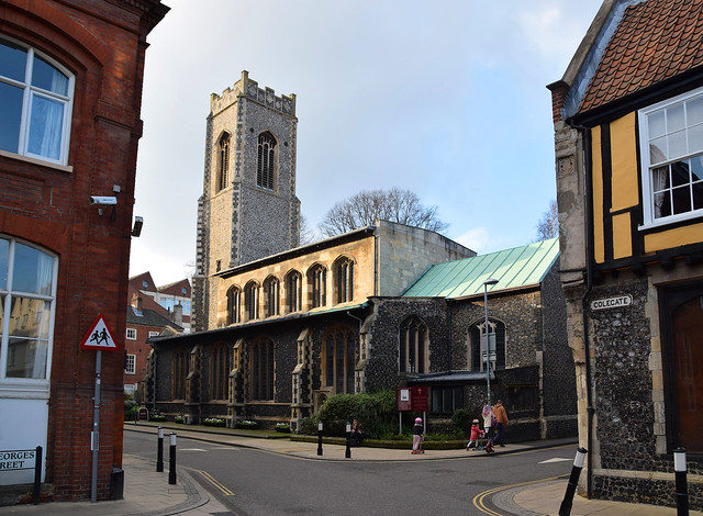 St George Colegate: the urban context