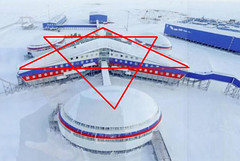 Russia's top-secret Trefoil military base in the Arctic Circle revealed for first time to West on 19 April 2017