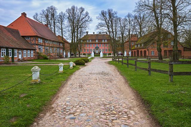 Schloss Gartow im April 2017