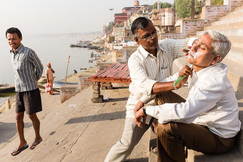 Varanasi Shaving #3