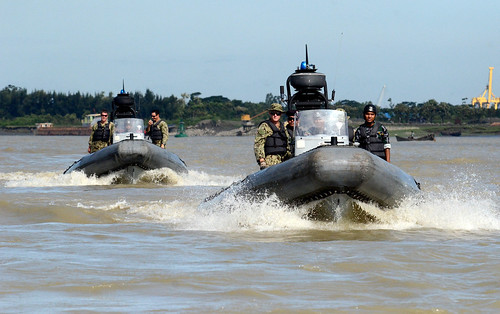 CHITTAGONG, Bangladesh (NNS) -- The fourth annual exercise Cooperation Afloat Readiness and Training (CARAT) Bangladesh commenced with an opening ceremony at Naval Base Issa Khan.