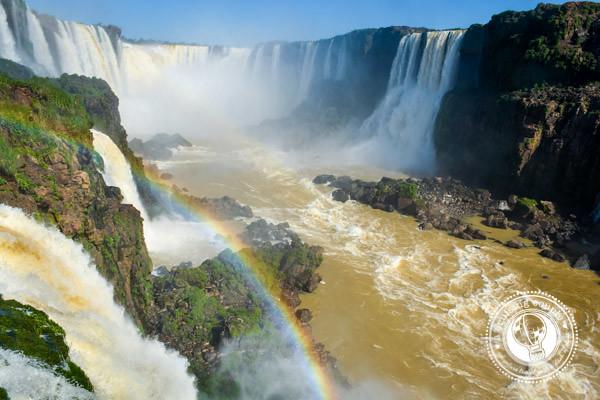 Devils Throat Iguazu Falls Brazil