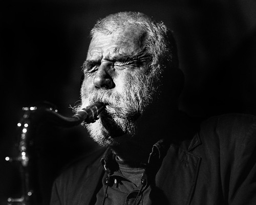 Brötzmann with Noble and Tippett at Cafe OTO