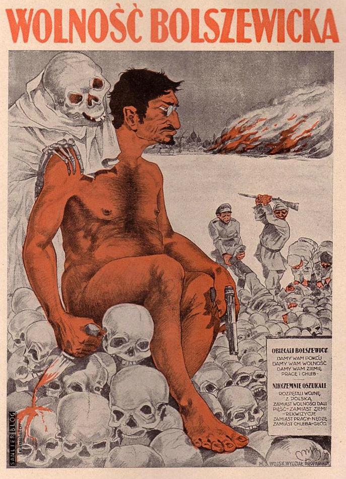 关于托洛茨基的宣传画06