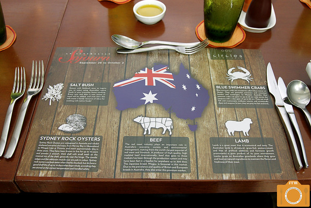 Australian Sojourn placemat