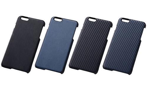 iPhone 6 Plus オープンタイプ・テクスチャー・レザー風ジャケット