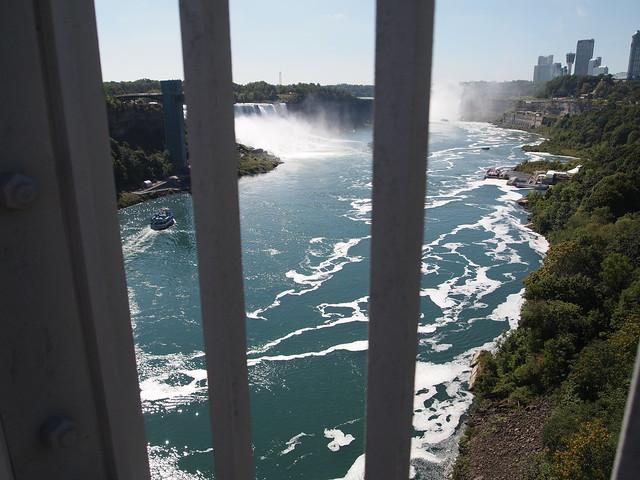 P9207830 カナダ,アメリカ,レインボーブリッジ,Rainbow Bridge,Niagara Falls,Ontario,Canada