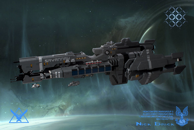 Halo: Reach UNSC FFG-371 Savannah by Nick Brick, on Flickr