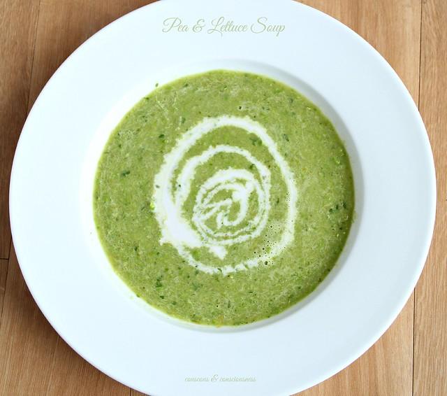 Pea & Lettuce Soup 2