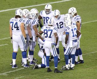 Indianapolis Colts Huddle