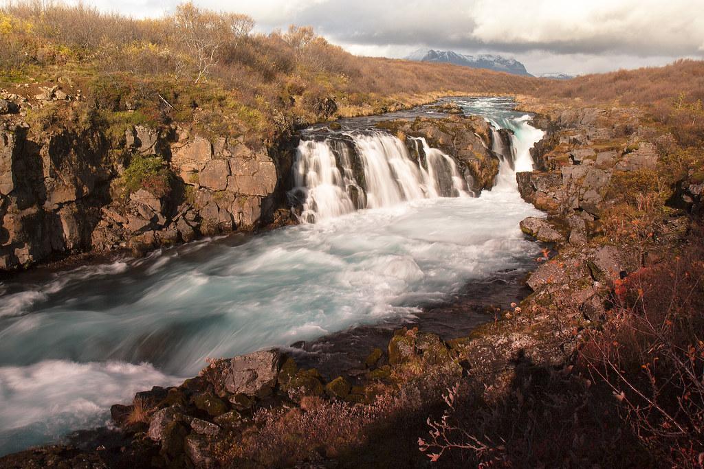 Hlauptungufoss í Brúará. (Explored)
