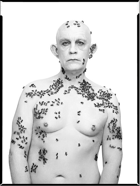 Sandro Miller, Richard Avedon : Ronald Fisher, Beekeeper, Davis, California, May 9 (1981), 2014