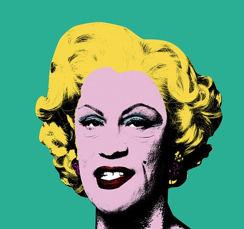 Sandro Miller, Andy Warhol : Green Marilyn (1962), 2014