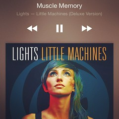 Obsessed with this album. Love me some Lights.