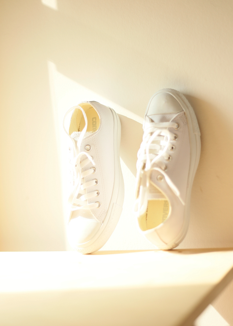 705c3be11ee Converse All Stars Ox Leather White Mono, converse, all stars, pro shoes,