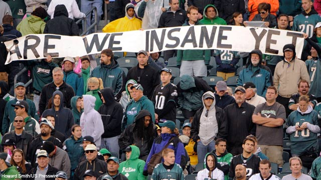 Philly Fans Are The Worst Philly Fans Continue to
