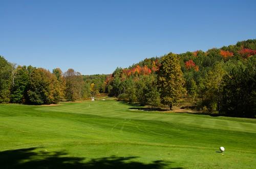 autumn sun fall day michigan fallcolors sunny fair golfcourse fallinmichigan fallgolfcourse