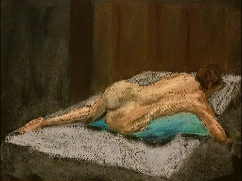 Pastel Figure Drawing