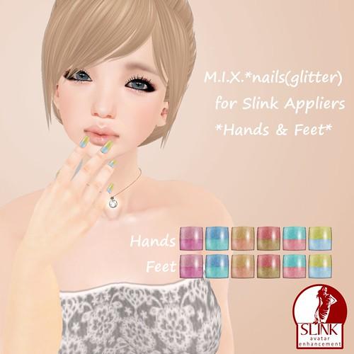 M.I.X.*nails(glitter)