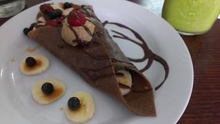 Raw Banana Crepe - Sadhana