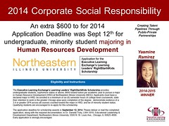 2014-15 NEIU Scholarship Winner