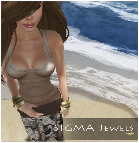 SIGMA Jewels - Leaf bracelets gold