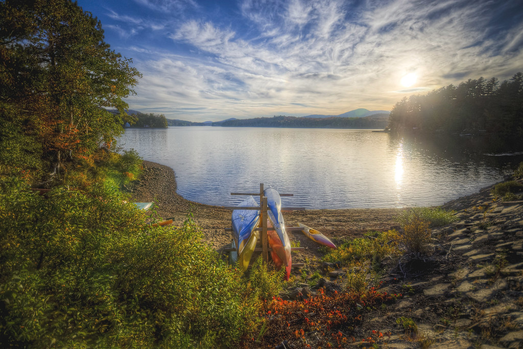 Kayaks in Autumn II
