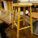 Hardwood stool