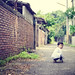 my son Rainy 22 month 阿鴻一歲十個月 攝於潭子國小圍牆旁 DSC_4079