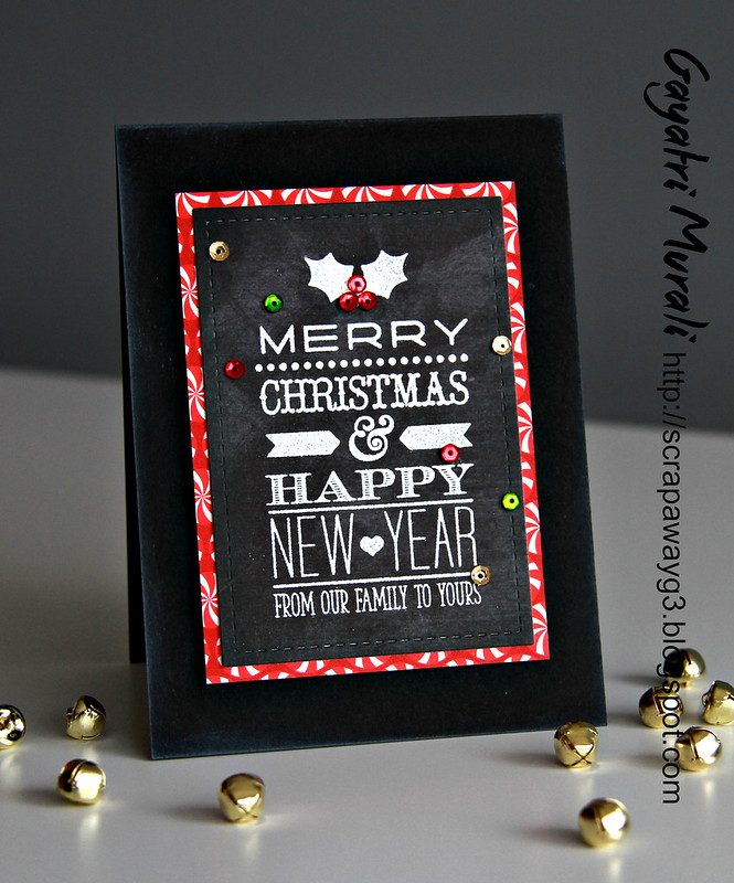 Chalkboard christmas card3
