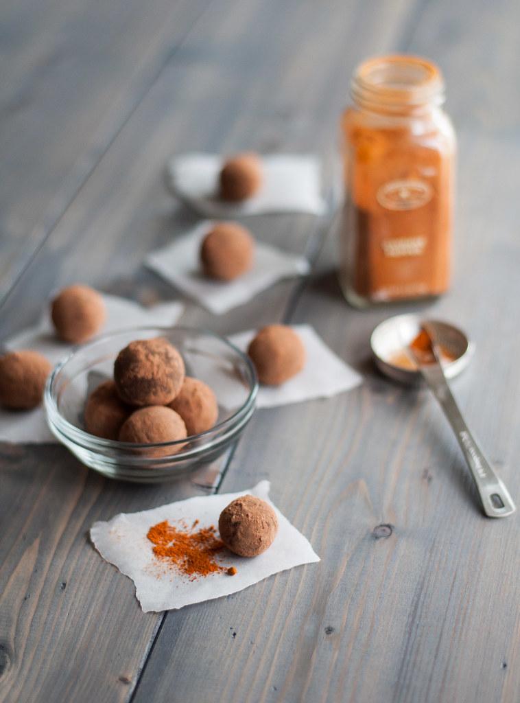 Spicy truffle cayenne