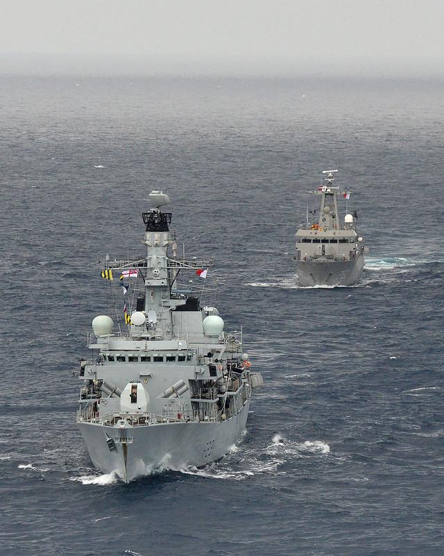 HMS Argyll visita Veracruz