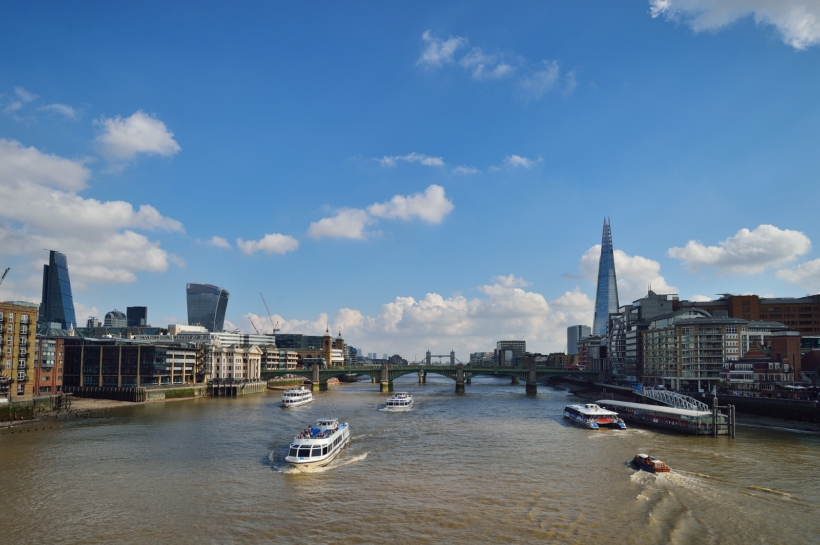 Busy Thames
