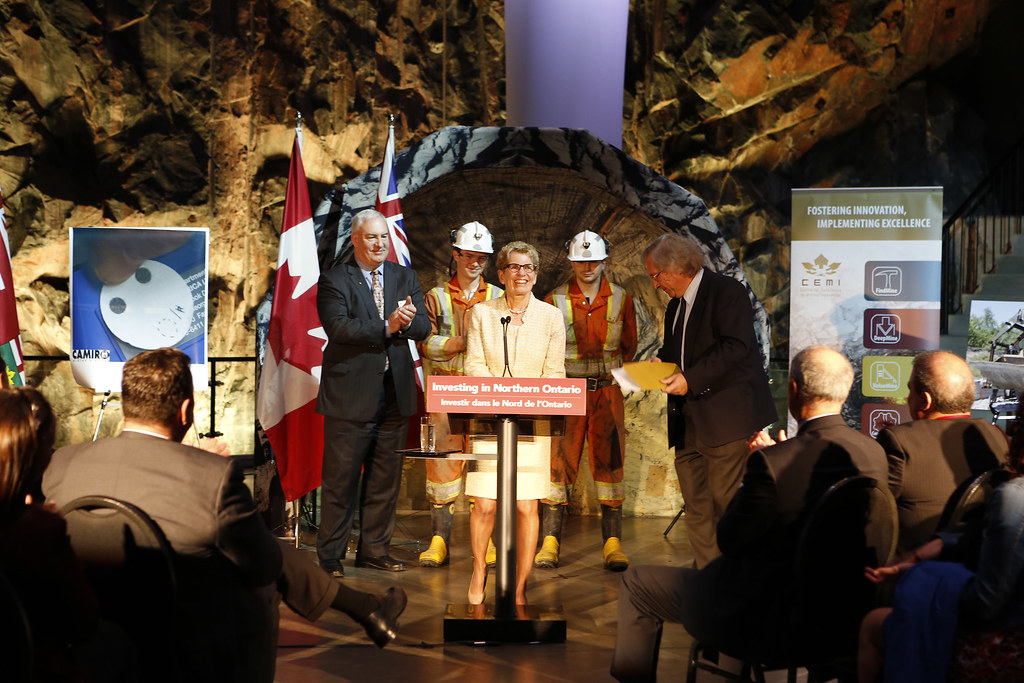 View photos from Ontario Invests in Mining Research  on our Flickr feed