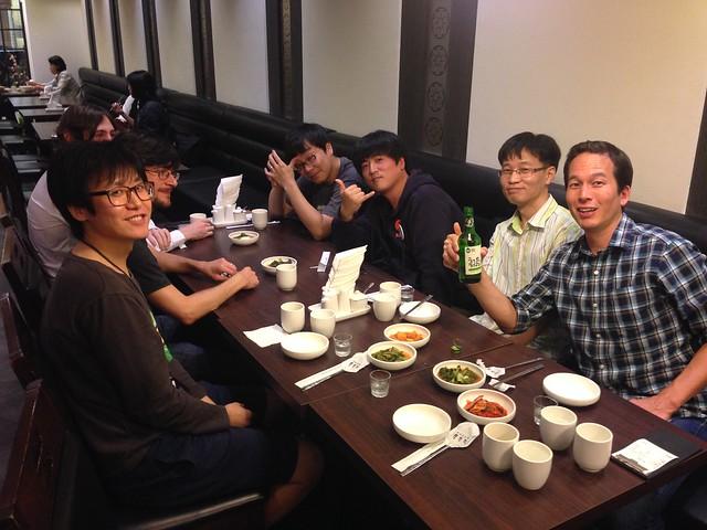 Github 직원들과 저녁식사