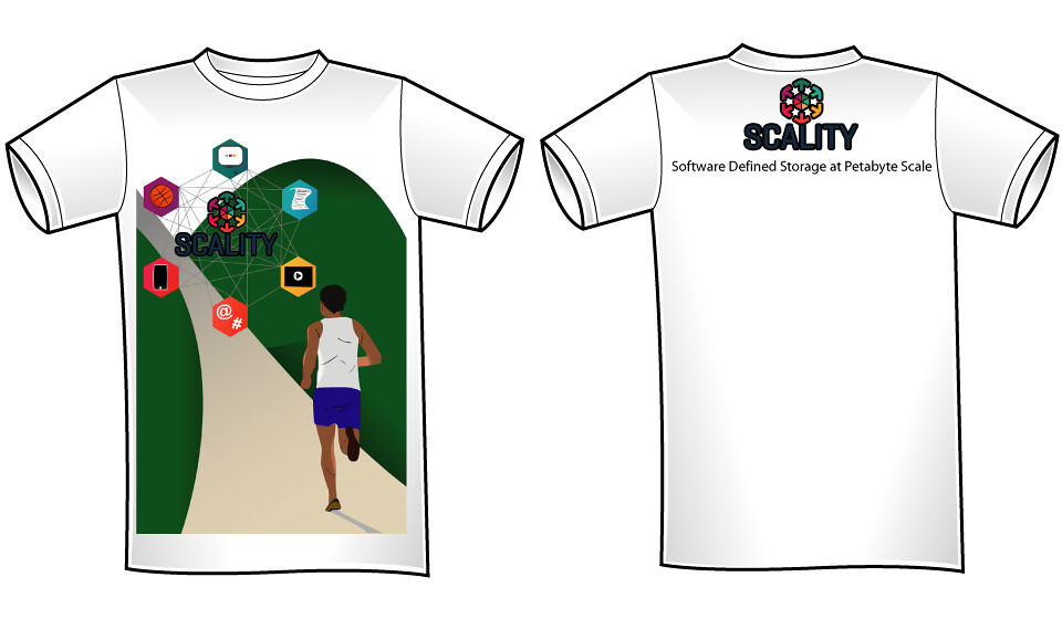 Scality T-shirt Design #1