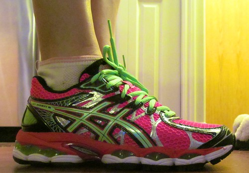 New running shoes. So ugly.