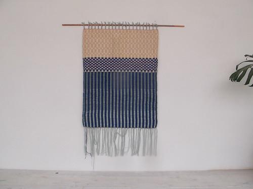 handwoven wall hanging - Hermine Van Dijck