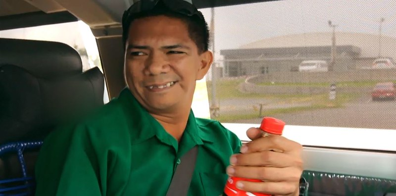 """Used to being called """"Kuya,"""" Ronilo felt really happy when he heard his real name."""