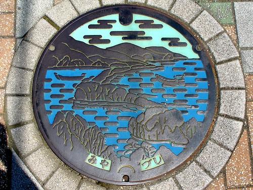 Miyazu Kyoto, manhole cover (京都府宮津市のマンホール)