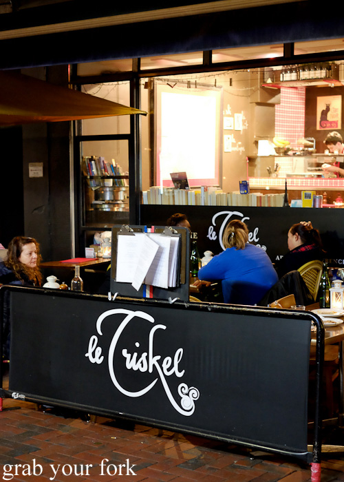 Creperie Le Triskel on Hardware Lane, Melbourne