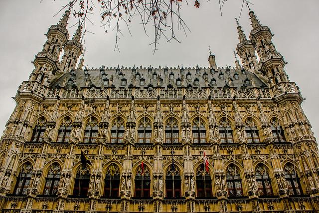 Viejo Ayuntamiento de Lovaina en Bélgica