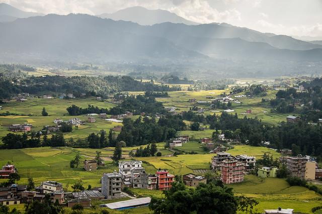 drive from Kathmandu to Nagarkot
