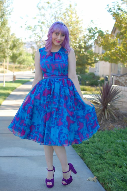 Modcloth Geode Bright On Schedule dress 012