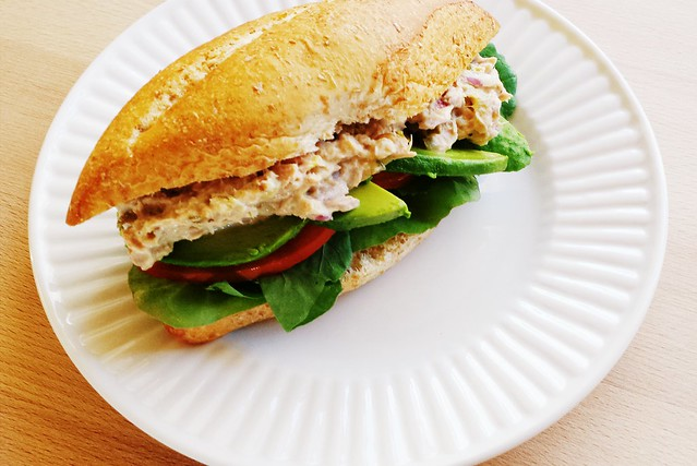 52 sandwiches no. 48: tuna salad