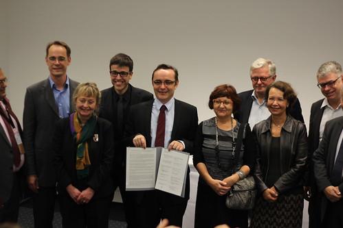 Déclaration européenne du Livre - Frankfurt Buchmesse 2014