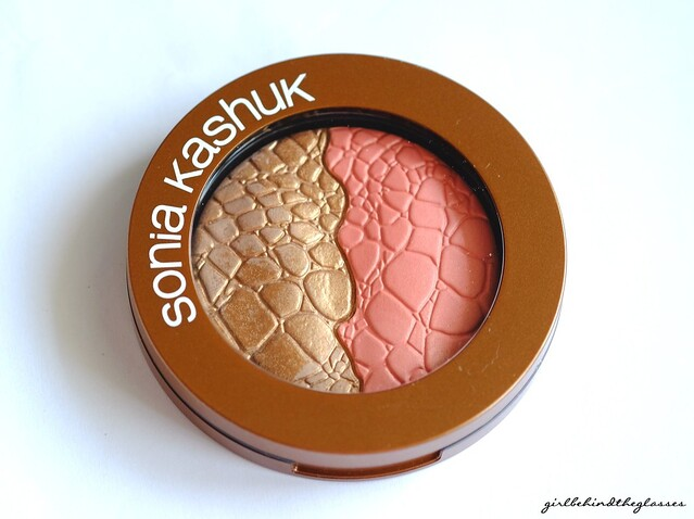 Sonia Kashuk Chic Luminosity Bronzer Blush Duo Glisten