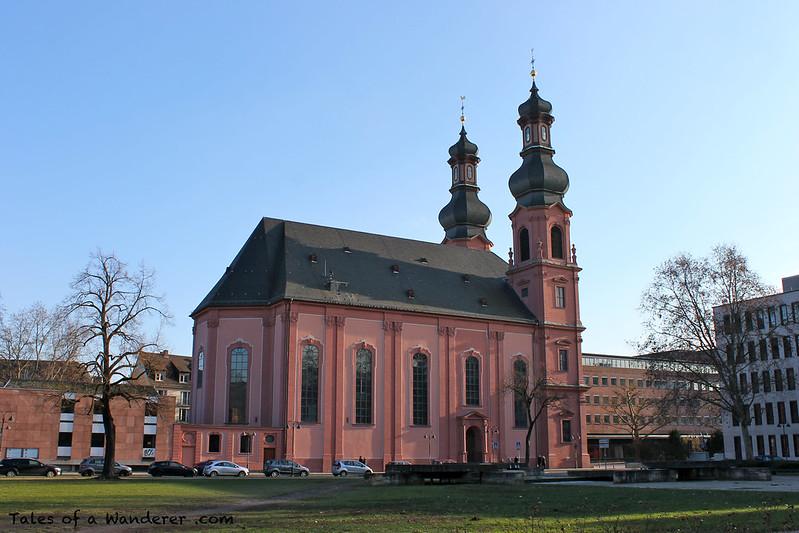 MAINZ - Kirche St. Peter