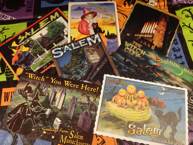 Salem postcards